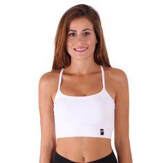 MI Activewear BGYM Sujetador Deportivo Blanco All White Sports Bra