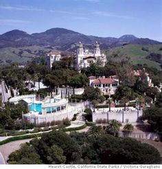 Hearst Castle on the California Coast been there. And wouldn't mind going again.