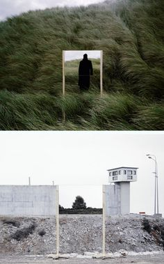 Guillaume Amat's series Open Fields uses seriously precise angles to create an illusion with reflections in mirrors. That sort of precision is made simple with our Expedition Wooden Tripod: http://photojojo.com/store/awesomeness/wood-camera-tripod//?utm_source=pinterest&utm_medium=social&utm_campaign=eprod