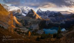 I recently took a trip to the Canadian Rockies. It wasn't really a photography trip -- we just wanted to hike camp explore and experience these incredible mountains. We only woke up for a couple sunrises and only stayed out for a couple sunsets. It was a nice change of pace and it allowed me to reconnect with the reasons I love landscape photography in the first place: because I love being outside. Tung and I hiked to many places in the high country that most people never see including a few…