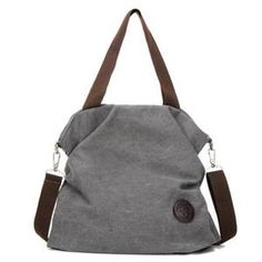 Cheap fashion shoulder bags, Buy Quality shoulder bags directly from China bag casual Suppliers: New Fashion Women Messenger Bags Solid England Style Big Capacity Canvas Handbag Tote Shoulder Bag Casual Crossbody Bag Grey Canvas Handbags, Tote Handbags, Canvas Tote Bags, Canvas Shoulder Bag, Leather Shoulder Bag, Sacs Design, Reusable Shopping Bags, Shoulder Handbags, Shoulder Bags