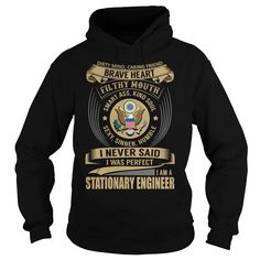 Stationary Engineer Job Title Special T-Shirts, Hoodies. ADD TO CART ==► https://www.sunfrog.com/Jobs/Stationary-Engineer--Job-Title-Special-Black-Hoodie.html?41382