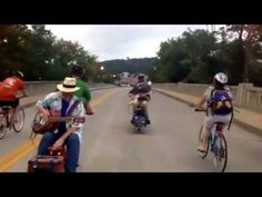 FolkBike Recyclery in Frankfort: Concert Bikes