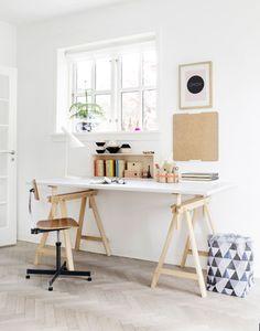 Ideias de decoração: Como preparar a casa para ser também o teu local de trabalho