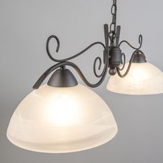 Lámpara colgante DALLAS 2 óxido - #diseño #iluminacion #interiorismo