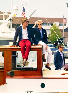 Classy Girls Wear Pearls: Boating up to the Mooring