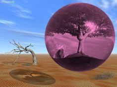 Visualisation créatrice : la bulle rose.
