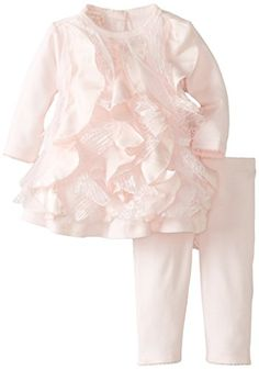 Biscotti Baby-Girls Newborn Ma Cherie Amour Dress and Legging Set, Pink, 9 Months Biscotti http://www.amazon.com/dp/B00KB1G3H2/ref=cm_sw_r_pi_dp_6jQeub1PTJTGR