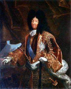 Louis XIV, Roi de France et de Navarre (1638-1715); by Jean Ranc.