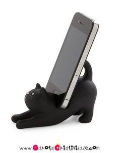 Porta celular de gatinho!