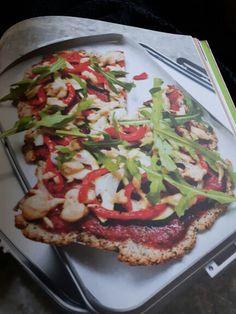Chia mandel Pizza