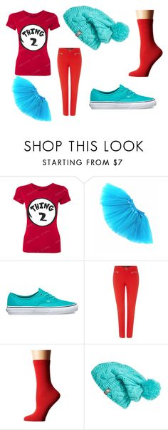 """""""Thing2"""" by lauren53103 on Polyvore featuring Vans, Lauren Ralph Lauren, Falke, The North Face, Costume and Thing2"""