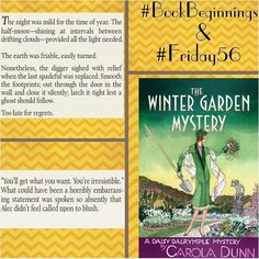 The Well-Read Pirate Queen: #BookBeginnings & #Friday56 - The Winter Garden My...