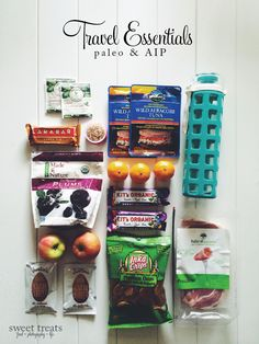 Traveling Essentials (#Paleo & #AIP)  {Sweet Treats: food, photography, life}