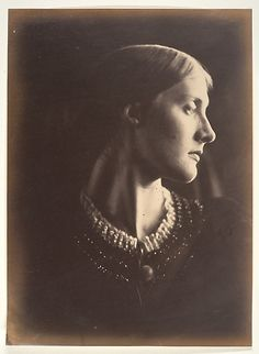 This photograph was made the year of Julia's marriage to Herbert Duckworth, when she was twenty-one. Three years later she was a widow, and the mother of three children. Her second marriage, in 1878, to the great Victorian intellectual Sir Leslie Stephen, produced the painter Vanessa Bell and the writer Virginia Woolf.
