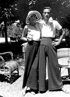 gala and dalî, 1930's
