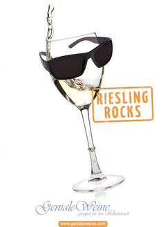Hochglanz-Poster A1 - Riesling Rocks Accessoires Poster