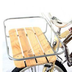 Porte paquet pour fixation à l'avant du vélo