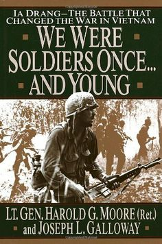 We were Soldiers Once...And Young: Ia Drang--The Battle That Changed The War In Vietnam by Harold G. Moore, http://www.amazon.com/dp/0679411585/ref=cm_sw_r_pi_dp_kvfAqb1MW4VA3
