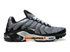Nike Air Max Tn/Tuned Requin 2013 - Chaussures Nike Sportswear Pas Cher Pour Homme Argent/Noir/Blanc 604133-208