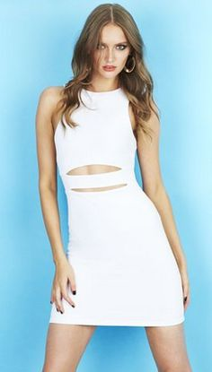 Little white Nookie Dress now $138