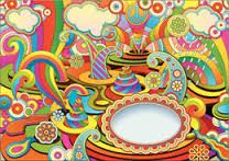 psychedelic art 60s