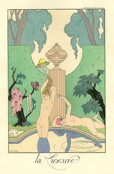 La luxure - George Barbier