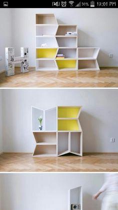 Interchangeable shelf