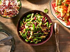 Headed to a barbecue this summer? Our mixed bean salad recipe might give the burgers and hot dogs a run for their money. Find the recipe at Chatelaine.com!