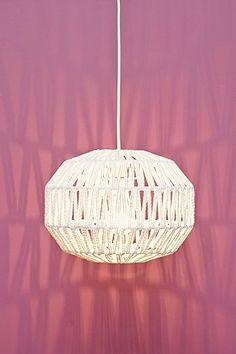 Macca Lampshade in White - Urban Outfitters