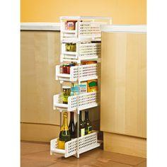 Organisation de tiroir de cuisine sur pinterest tiroirs - Rangement entre deux meubles ...