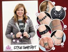 Just because it's winter and burrr outside doesn't mean you have to lighten your load of accessories! Just look at these cute ways to wear all your $5 accessories by Paparazzi. To shop now visit www.paparazziaccessories.com/27958