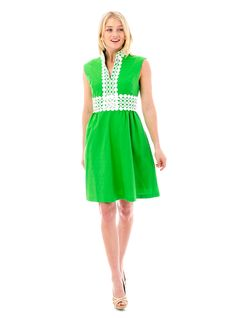 Coco Dress in Green