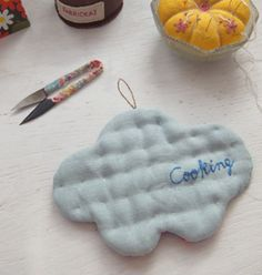 DIY Cloud - How To Make a Cloud Potholder with Pattern
