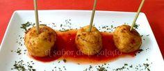 Albóndigas de queso San Simón da Costa.