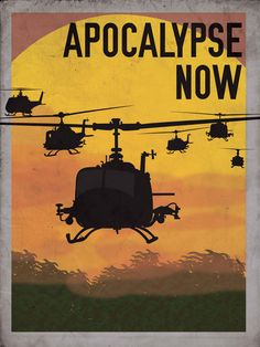 Movie print redesign. The 1979 war classic, Apocalypse Now