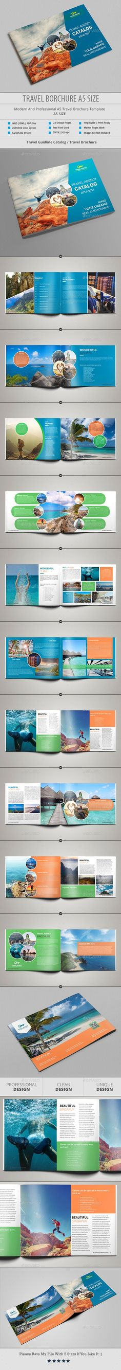 178 Best Travel Brochure Template images in 2019 | Travel
