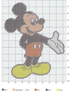 Mickey Mouse Wallhanging