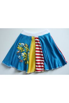 T shirt skirt  No link- just a photo for personal sewing inspiration.