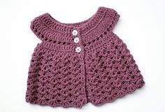 Baby Girl Dress Patterns | Yarn - very little variegated leftover yarn for the body and cream for ...