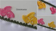 TIĞLA İLMEK OYASI TARİFİ | Nazarca.com Crochet Earrings, Floral, Flowers, Jewelry, Dish Towels, Jewlery, Jewerly, Schmuck, Jewels