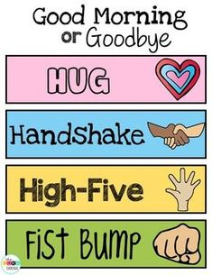 Student Gifts Discover Editable Morning Greeting Signs Morning Greeting Choices Digital & Printable Morning Greeting to Build Classroom Community Classroom Behavior, Preschool Classroom, In Kindergarten, Morning Meeting Kindergarten, Kindergarten Classroom Management, Toddler Classroom, Autism Classroom, Social Emotional Learning, Social Skills