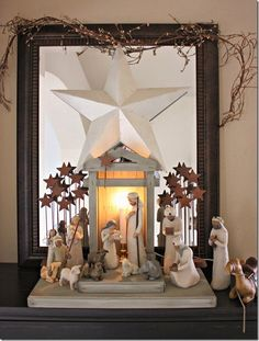 willow tree nativity display | 17 Best images about Christmas on Pinterest | Around the worlds, Nativity scenes and Nativity sets