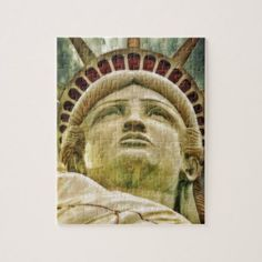 Statue of Liberty Jigsaw Puzzle - independence day 4th of july holiday usa patriot fourth of july