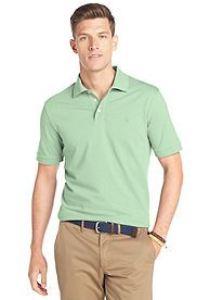IZOD Solid Ottoman Polo - Don't forget to wear green on St. Patrick's Day!