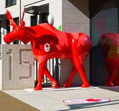 The Canadian moose in London
