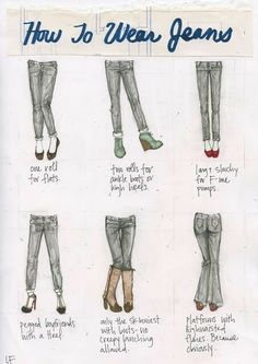 How to wear jeans + shoes