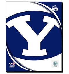 Brigham Young University Cougars Team Logo Canvas Framed Over With 2 Inches Stretcher Bars-Ready To Hang- Awesome & Beautiful-Must For A Championship Team Fan! All Teams Logo Canvas Available-Please Go Through Description & Mention In Gift Message If Need A different Team-Choose Size Option! (16 x 20 inches stretched Brigham Young University Cougars Team Logo Canvas) Art and More, Davenport, IA http://www.amazon.com/dp/B00N5TUFAI/ref=cm_sw_r_pi_dp_qb2xub0CGT85Y