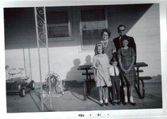 Mom, Dad, Me, David and Saundra.. 1967