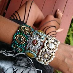 Bracelets – IBIZA FESTIVAL ARMAND – a unique product on DaWanda.com